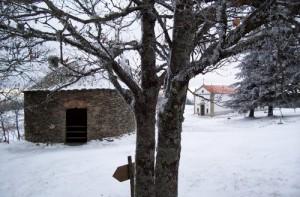 Um dos 3 poços da neve